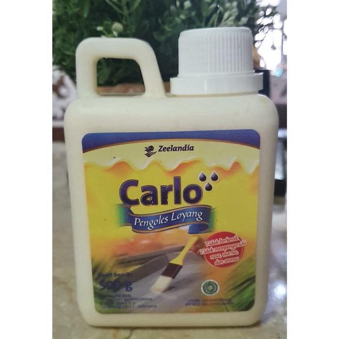 Pengoles Loyang Carlo 500 Gr Minyak Oles Anti Lengket Lazada Indonesia