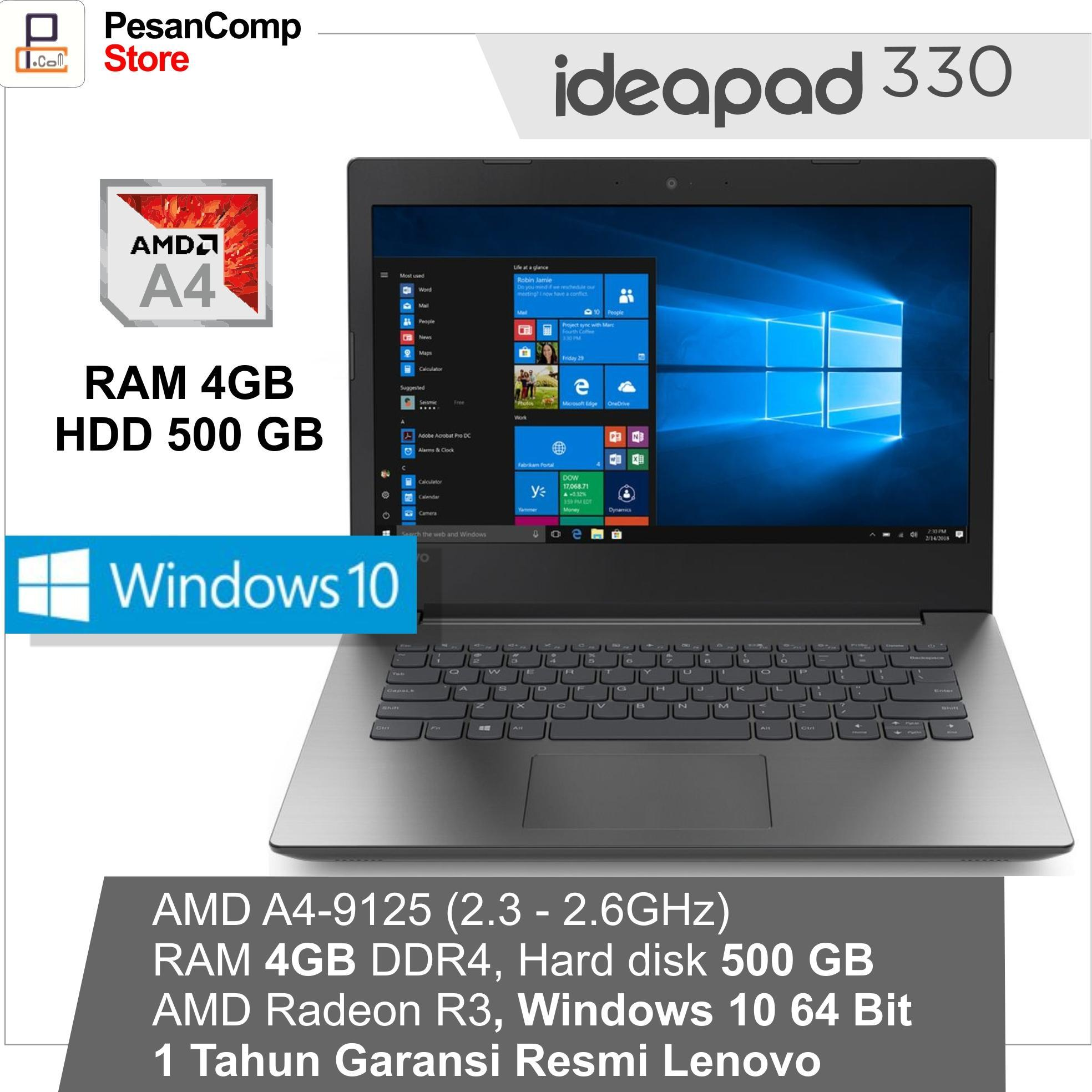 Lenovo IdeaPad IP 330 -14AST AMD A4 -9125   WINDOWS 10   AMD Radeon 134ca103c6