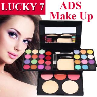 LUCKY 7 - ADS Make Up Set Pallate - Eyeshadow Pallate - Make Up Kit - 1 Set thumbnail