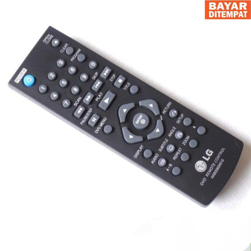 REMOT/REMOTE DVD LG Untuk Semua Jenis DVD Merk LG