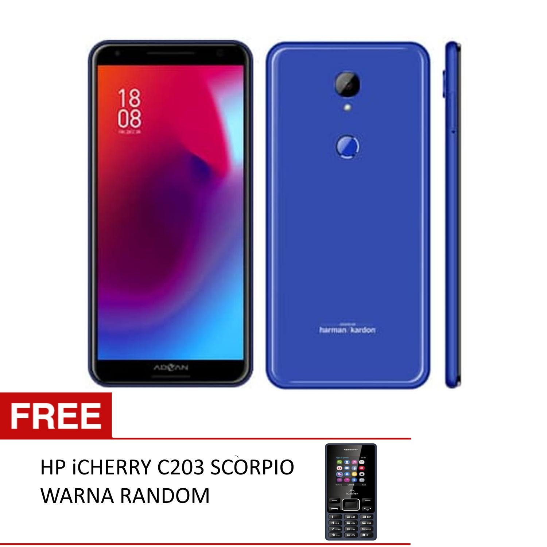 Advan G3 Smartphone 5 99 Inchi Full View 4glte Ram 4gb Rom 64gb Batt 3500 Mah Free Icherry C203 Scorpio