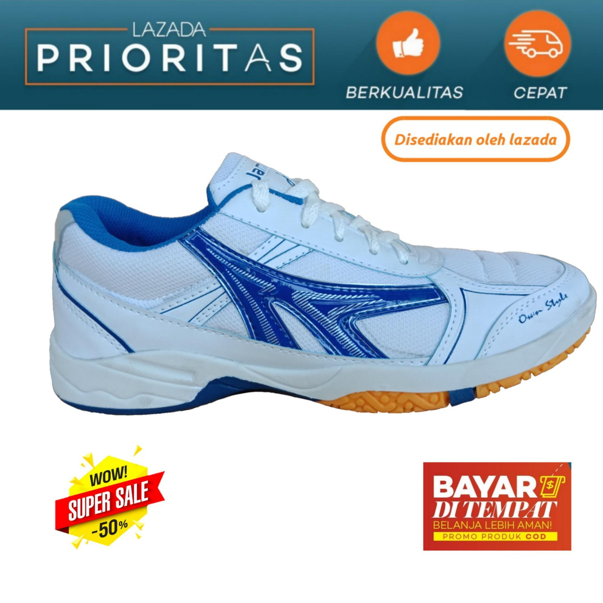 LUTTON JAMPER PUTIH MERAH DAN PUTIH BIRU Sepatu olahraga pria dan Wanita - Sepatu Olahraga Badminton 55d63d6668