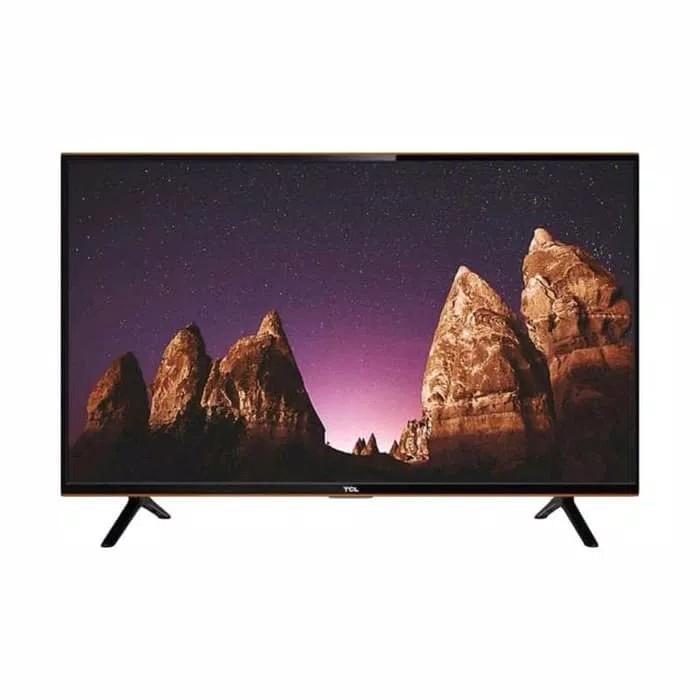 TCL 32 inch Digital HD TV (model 32B3) DIGITAL DVBT2 TV ( untuk ke luar kota wajib di palet ya