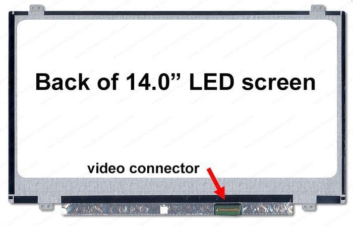 LCD LED 14.0 Laptop HP 240 G5 Notebook Original Premium