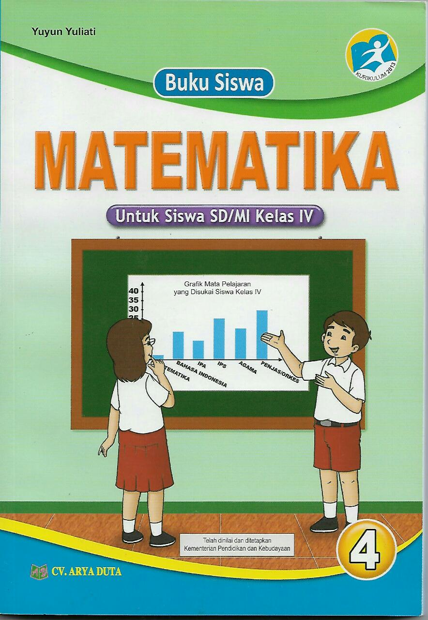 Buku Matematika Kelas 4 Sd Mi Arya Duta Kurikulum 2013 Lazada Indonesia