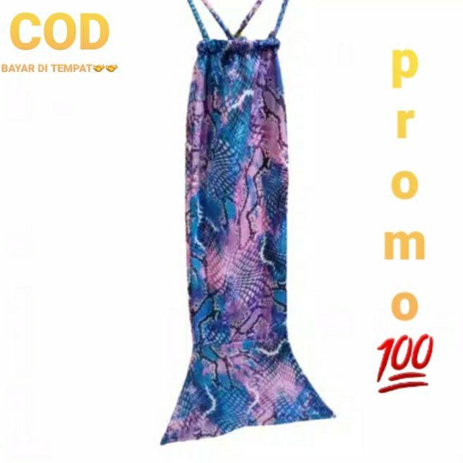 Kostum mermaid/putri duyung anak/motif blue