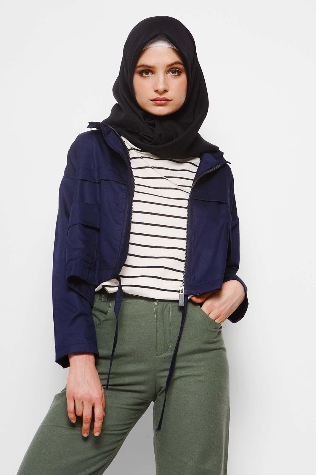 Hijabchic Kelly Navy Blue By Hijabchic.