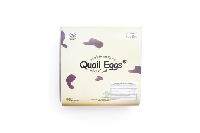 Telur Burung Puyuh Isi 25 Butir By Sajira Farm.
