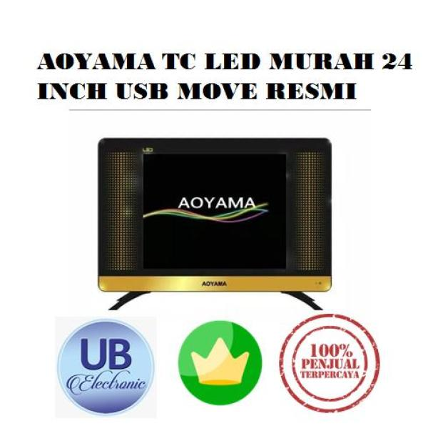 AOYAMA LED TV 24 INCH USB MOVIE