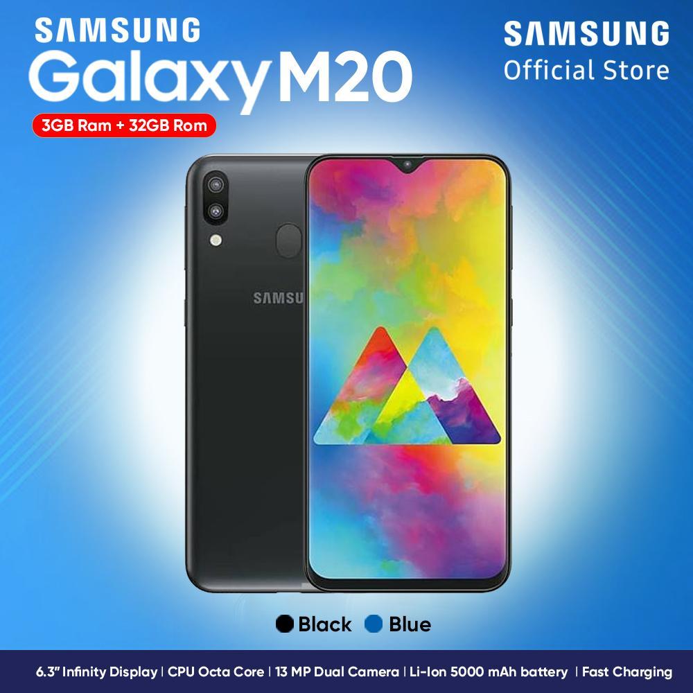 Samsung Galaxy M20 2019 [3GB/32GB] - Garansi Resmi