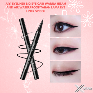 Aiyi Eyeliner Big eye Cair Warna Hitam Anti Air waterproof tahan lama eye liner spidol-Xaiver thumbnail