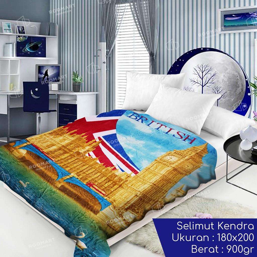 Selimut Kendra - Ukuran 180x200cm @ selimut / selimut bayi / selimut dewasa / selimut karakter / selimut bulu / selimut bonita / selimut polos / selimut tebal / selimut bulu karakter dewasa