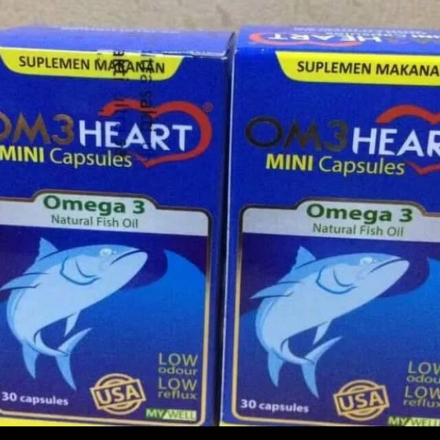 Om3heart/ omeheart/ omega 3 isi 30