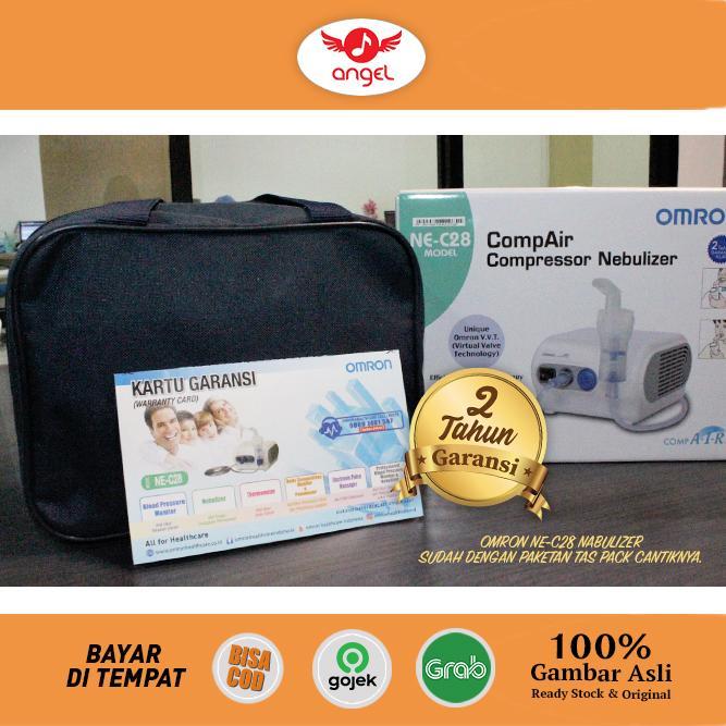 OMRON NE-C28 Nebulizer Alat Terapi Uap Alat Bantu Nafas Napas NEC28 NEC 28