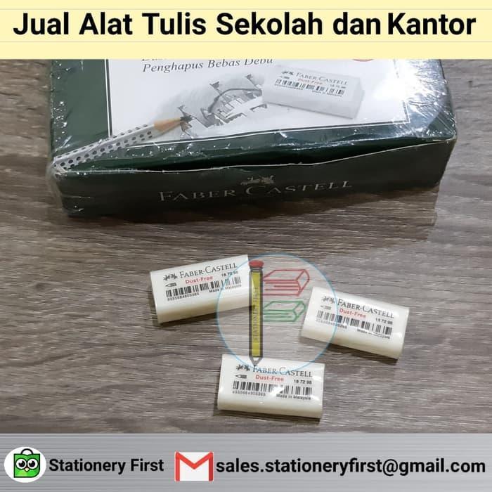 BEST SELLER Eraser Penghapus Faber Castel 187296 Putih Kecil - LWHClsAU
