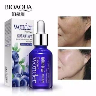 BIOAQUA Blueberry Wonder Essence Face Serum Anti Wrinkle Kerut Aging 15ml Serum Blueberry Bioaqua An thumbnail