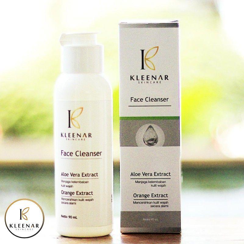 Kleenar Face Cleanser Bpom Na18181202804 Netto 90 Ml By Distributor Kleenar  Skincare Indonesia
