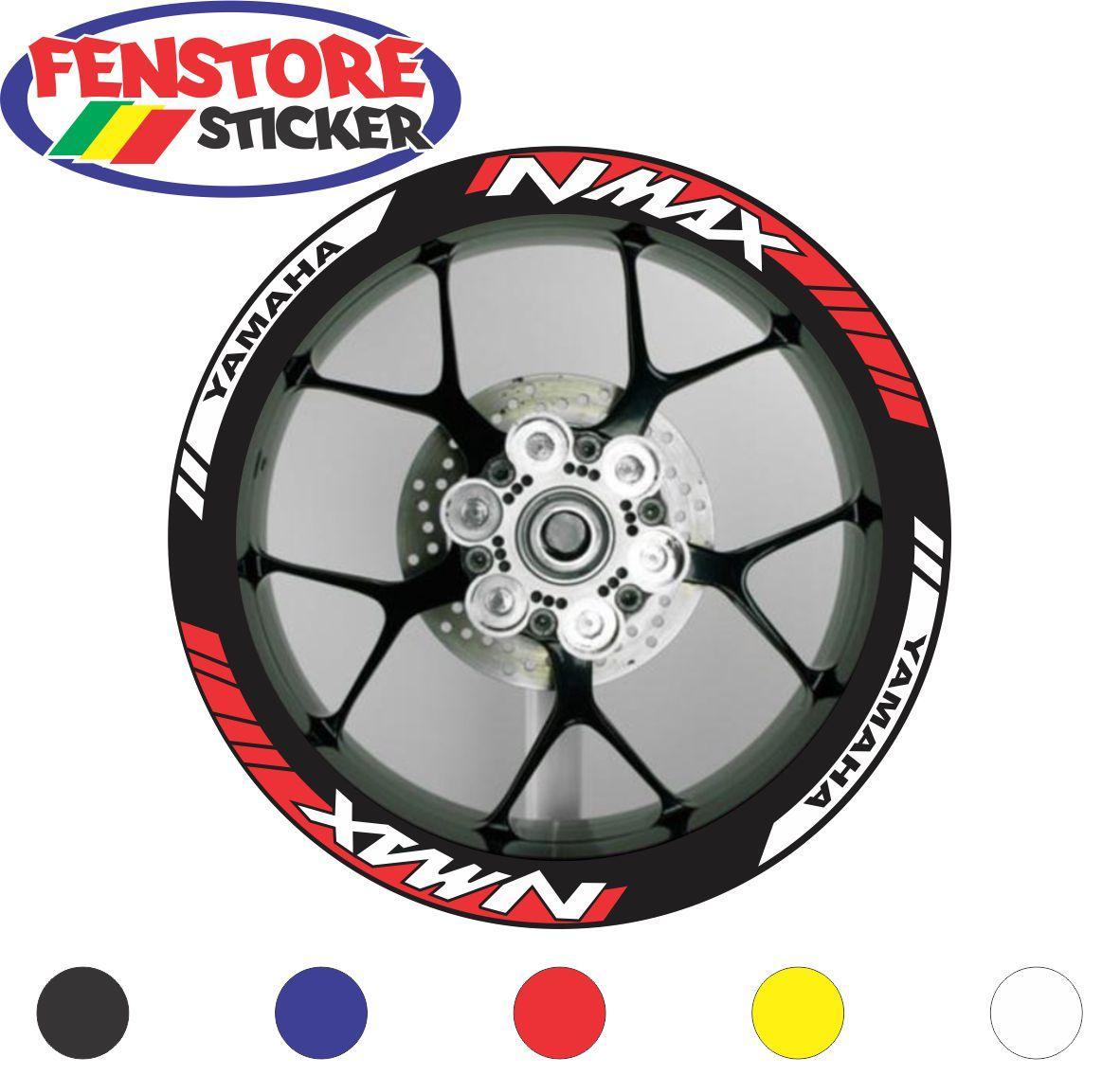FENSTORE Sticker Cutting -  Aksesoris sticker Motor Stiker Velg Yamaha Nmax 8 MR  -  FENSTORE sticker
