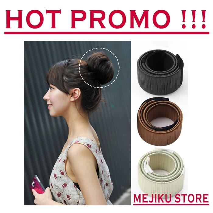 IKAT RAMBUT MAGIC HAIR BUN MAKER HAIRBUN SANGGUL INSTAN