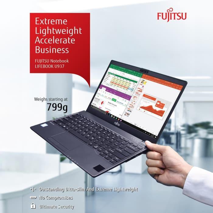 Fujitsu Lifebook U937-122 - Ci7-7600U 12GB 512GBSSD 13.3inFHD Touch W10