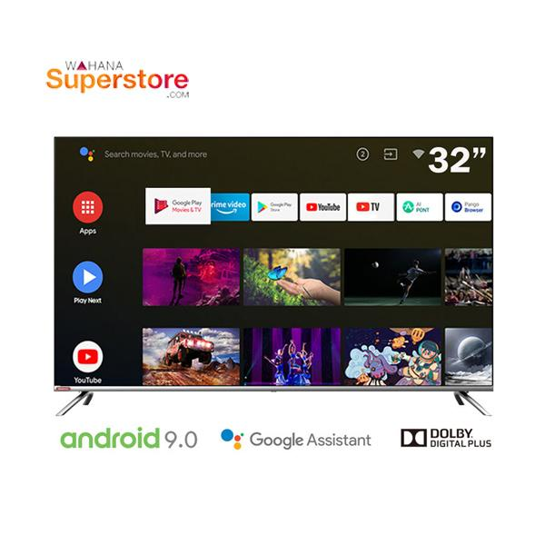 Changhong borderless Google certified Android 9.0 Smart TV LED TV 32  - L32H7