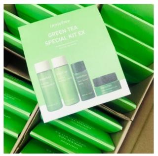 Innisfree Green Tea Special Kit 4 Items Original New Packaging thumbnail
