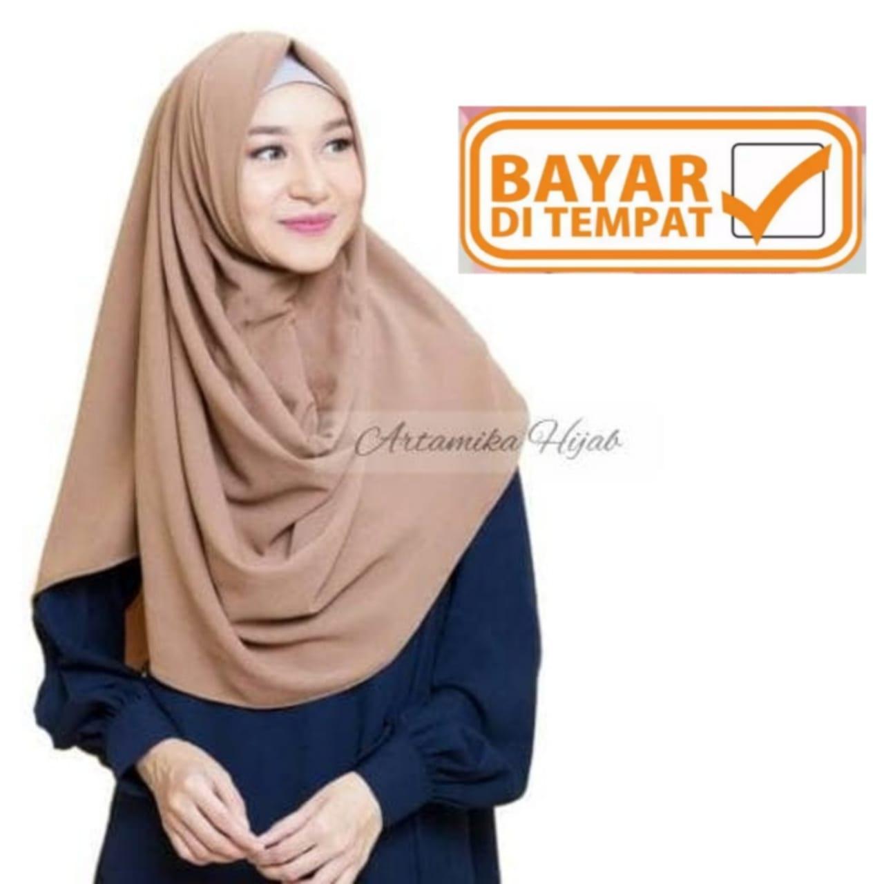 Jilbab ZAFINA pashmina instan sala Khimar Murah Wanita artamika hijab