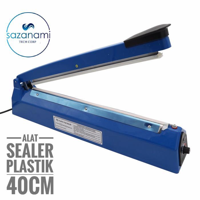 Mesin Press Plastik GETRA Impulse Sealer 40 cm 40cm BODY Plastik