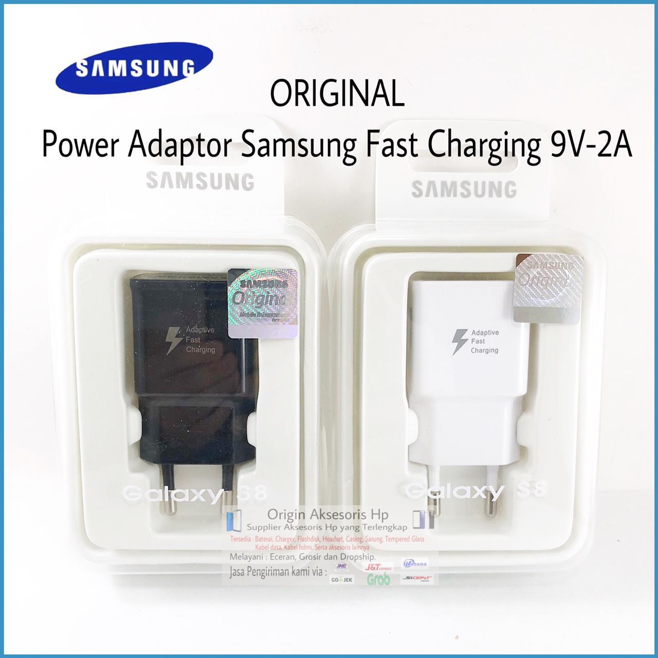 Kepala Adaptor Charger Samsung Fast Charging Note 4 5 8 S8 S9 Original