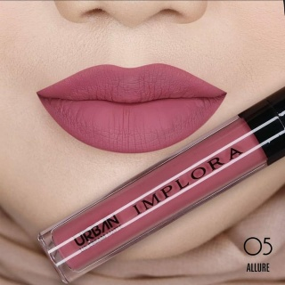 IMPLORA Urban Lip Cream Matte ORIGINAL LIPSTIK wanita bibir murah thumbnail