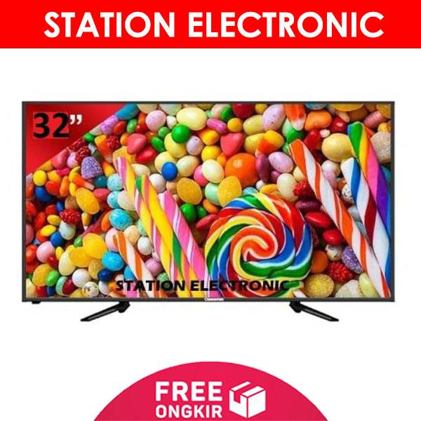 CHANGHONG HD USB Movie LED TV 32 Inch - 32G3 - Khusus JABODETABEK