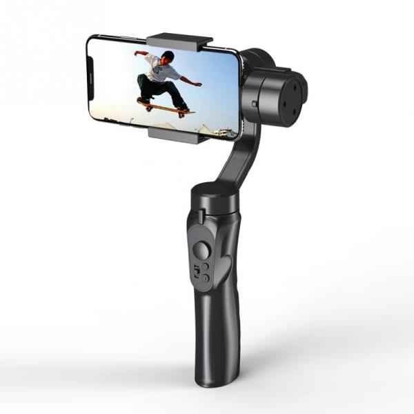 Giá Smooth Smart Phone Stabilizing H4 Holder Handhold Gimbal Stabilizer for Iphone Samsung & Action Camera