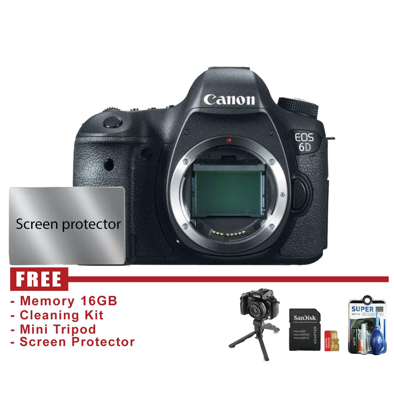 Canon Eos 6d Body Only By Central Camera.
