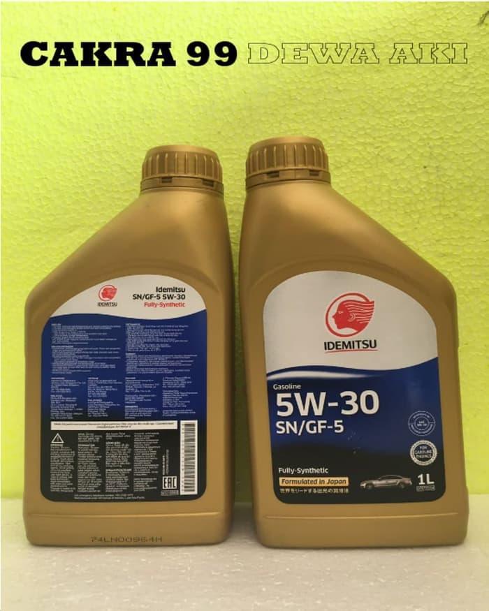 DISKON OLI MOBIL IDEMITSU SN GF5 5W30 FULLY SYNTHETIC 1 Liter Murah