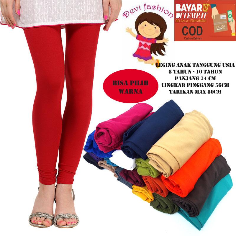 Cod Celana Legging Anak Tanggung Usia 8thn 10thn Bisa Pilih Warna Lazada Indonesia