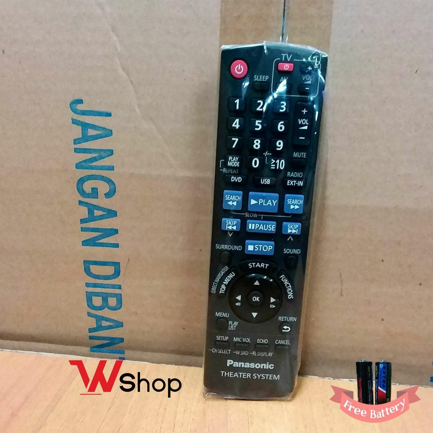 REMOTE/REMOT HOME THEATER PANASONIC - ORIGINAL