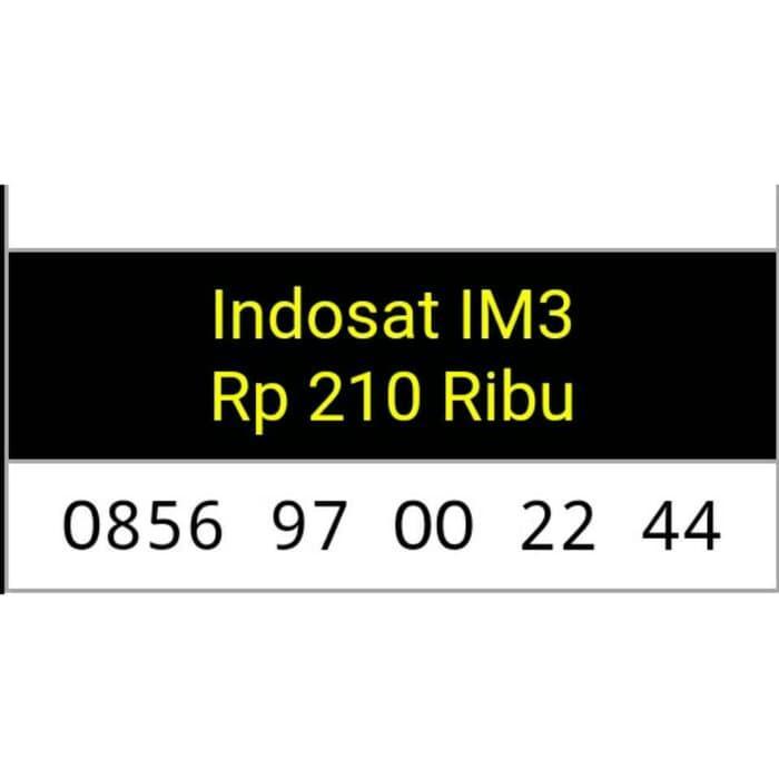 Nomor Cantik Indosat im3 triple Aa seri terbaru/rapih/mudah di hapal