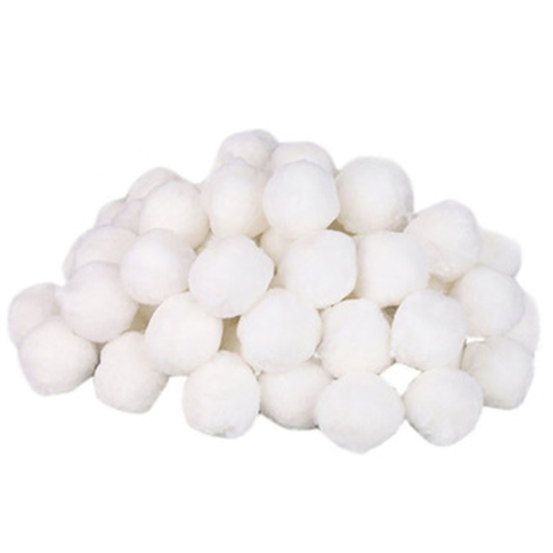 Eco-Friendly Swimming Pool Cleaning Sewage Treatment Filter Ball Water Purification Fiber Cotton Balls