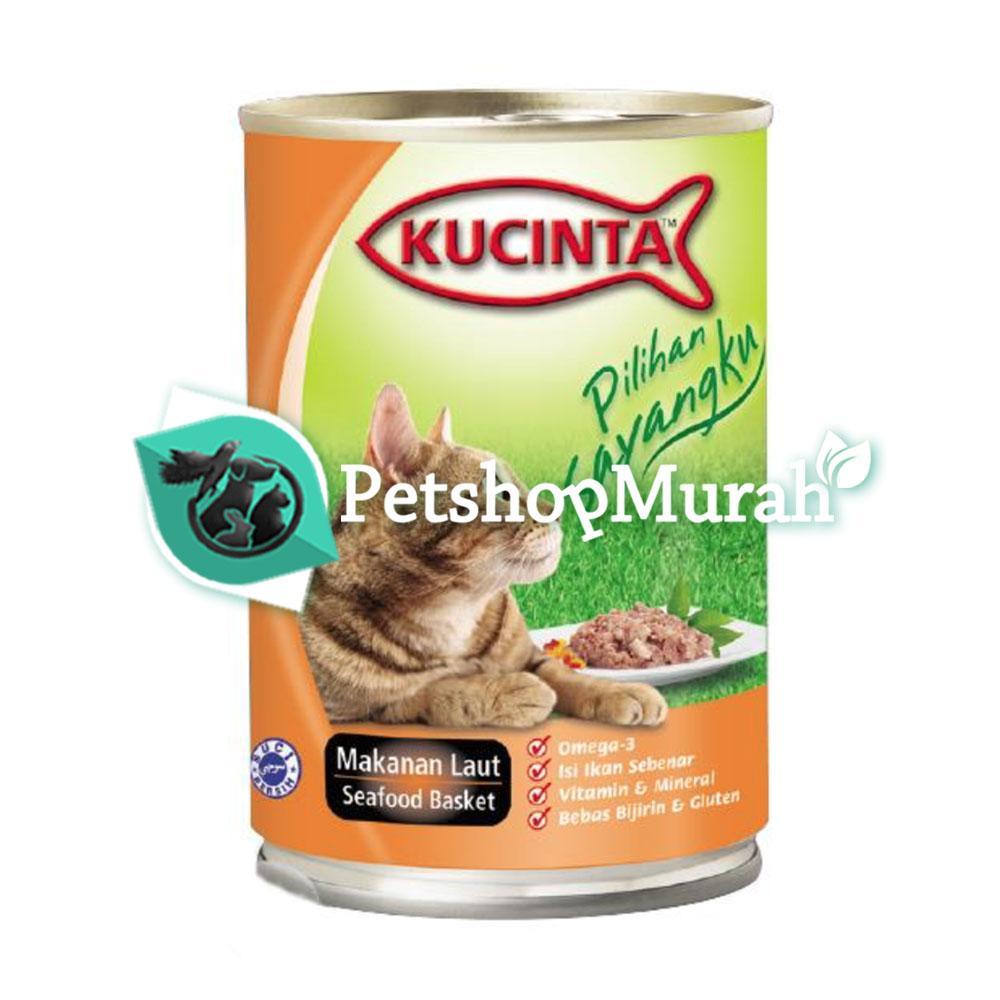 Jual Makanan Kucing Basah Kucinta Lazada Co Id