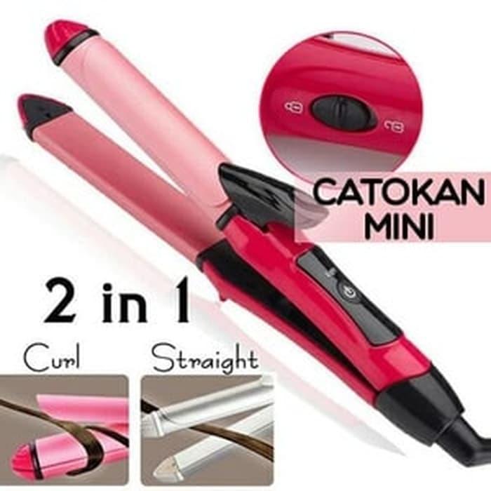 Catokan Nova Catok Mini 2 In 1 Nch 2009 - Keriting Dan Pelurus Rambut By Keyla Story.