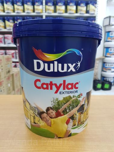 Super White - CAT TEMBOK DULUX CATYLAC EXTERIOR READY MIX (25 KG)