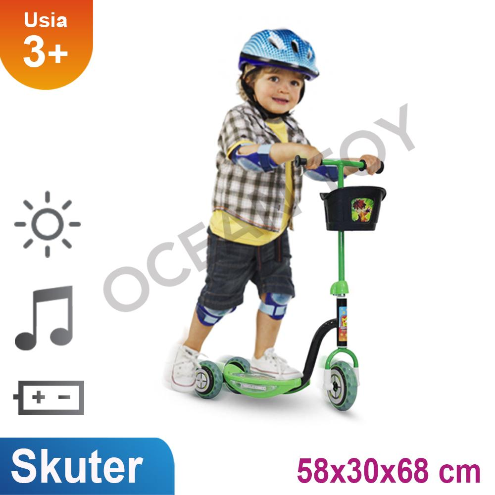 Mainan Skuter Anak Roda Tiga