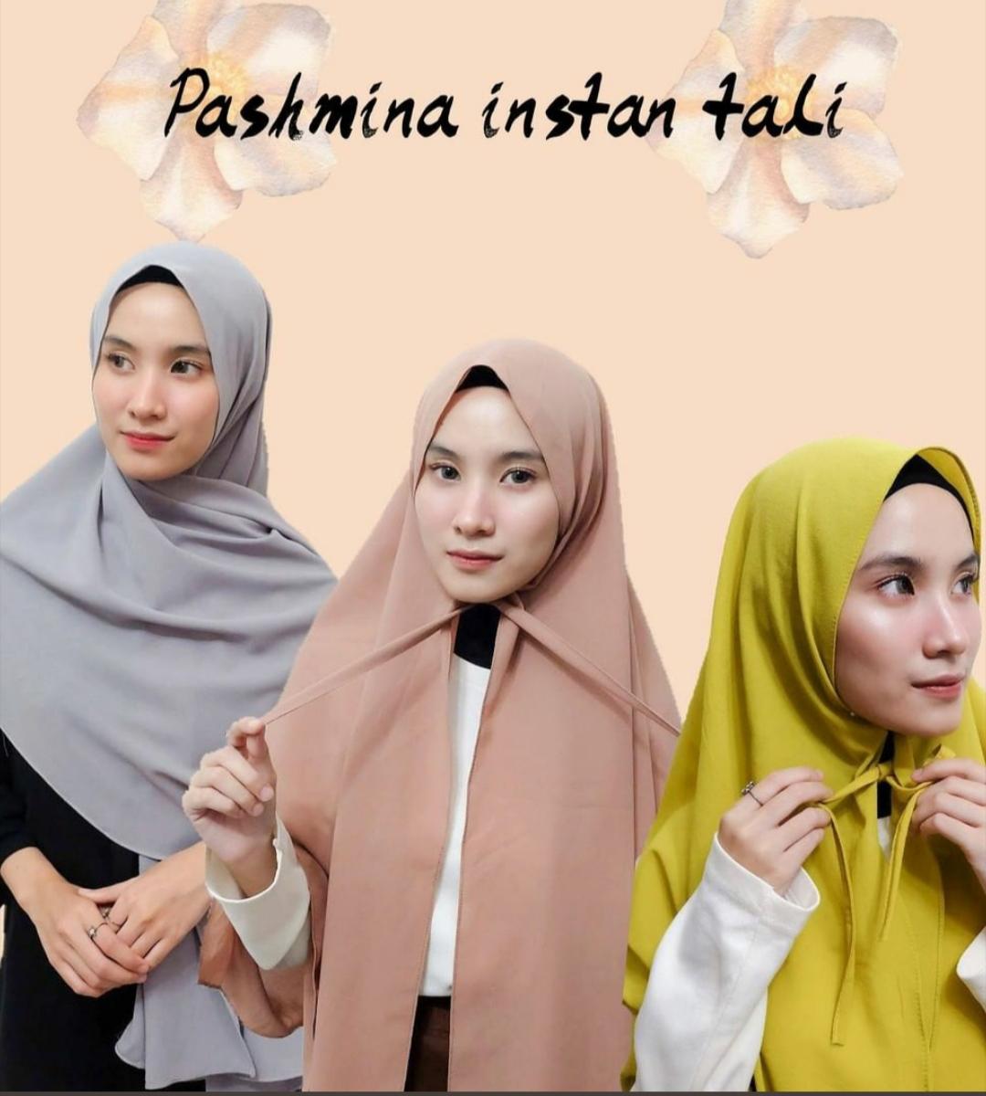Hijab Pashmina Diamond Tali Diamond Kerudung Pasmina Tali Diamond Jilbab Pashmina Tali Diamond Kerudung Instan Tali Lazada Indonesia