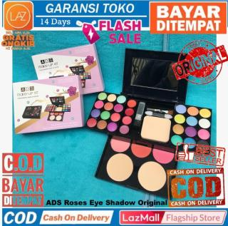 Bisa COD Bayar di Tempat ADS Roses Makeup Kit Rose EyeShadow Pallete Eye Shadow Beauty Palette Laz COD Graha Expo thumbnail