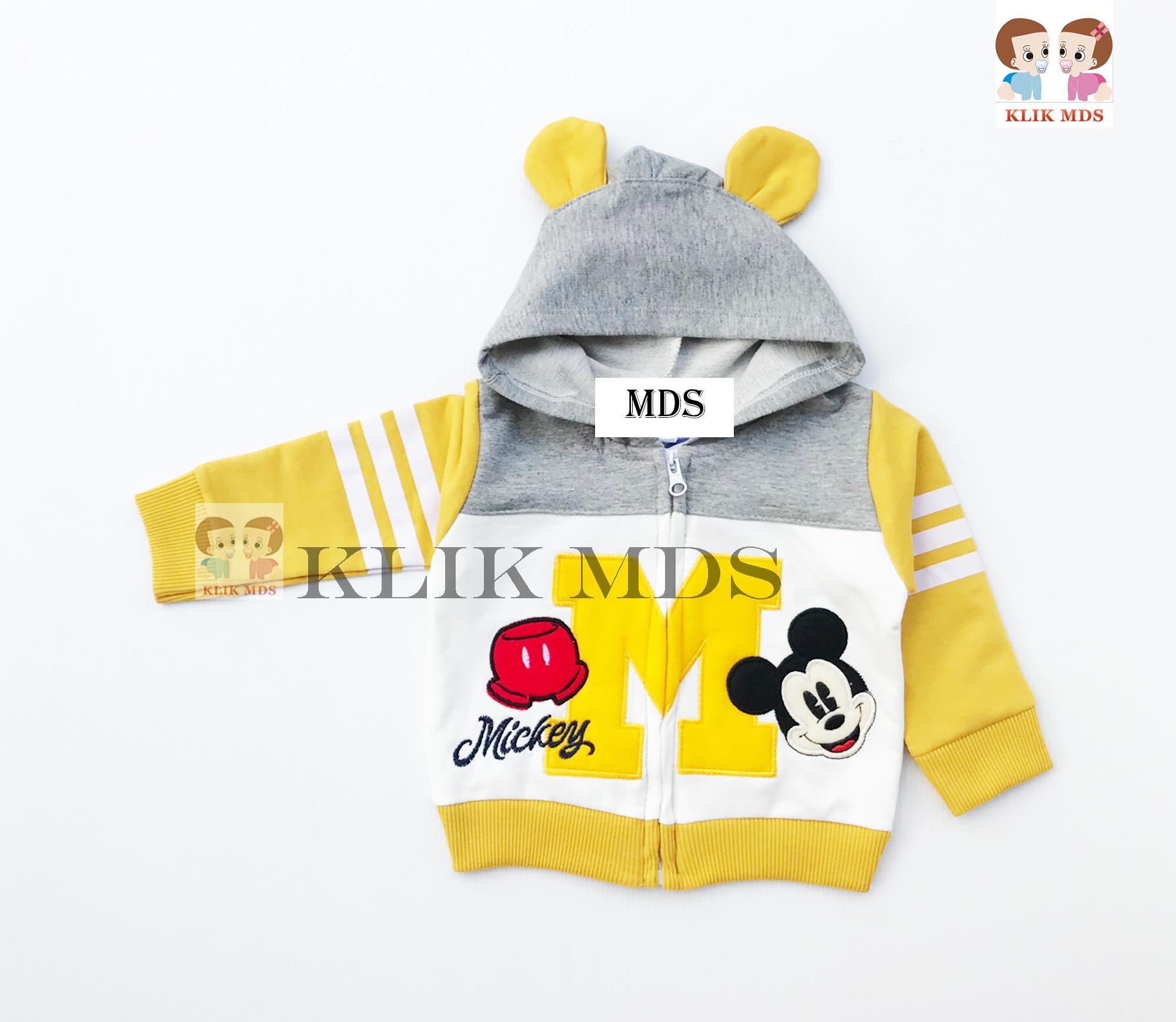 Klik Mds Baju Anak Bayi Atasan Jaket Hoodie Logo M / 1 Ukuran / All Size By Klik Mds.