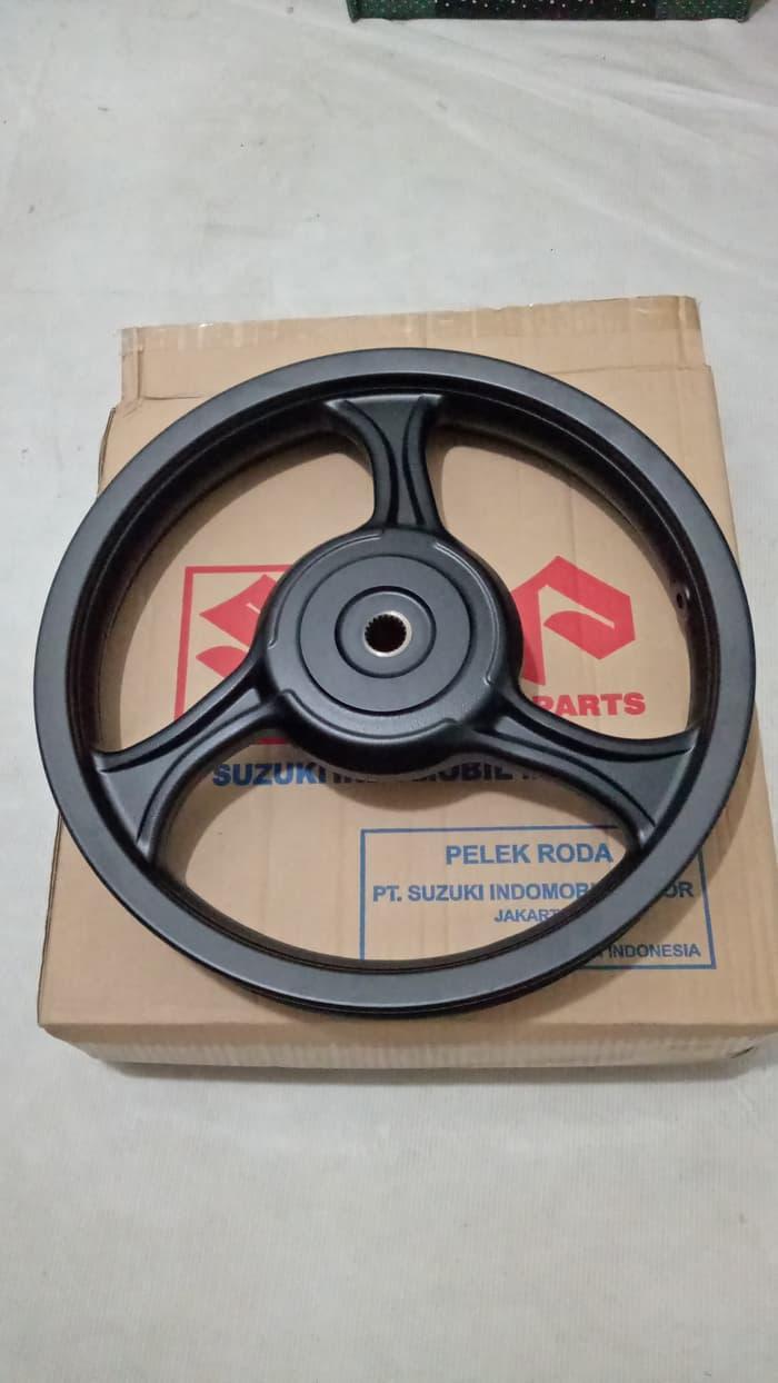 Promo      Velg Belakang suzuki Nex type bintang wheel set rear ori 100% sgp      Termurah
