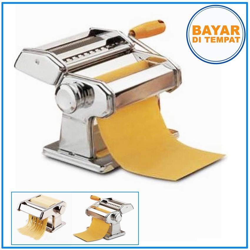 PM-01 Atlas Pasta & Noodle Maker / Alat Pembuat Mie & Pasta - Silver