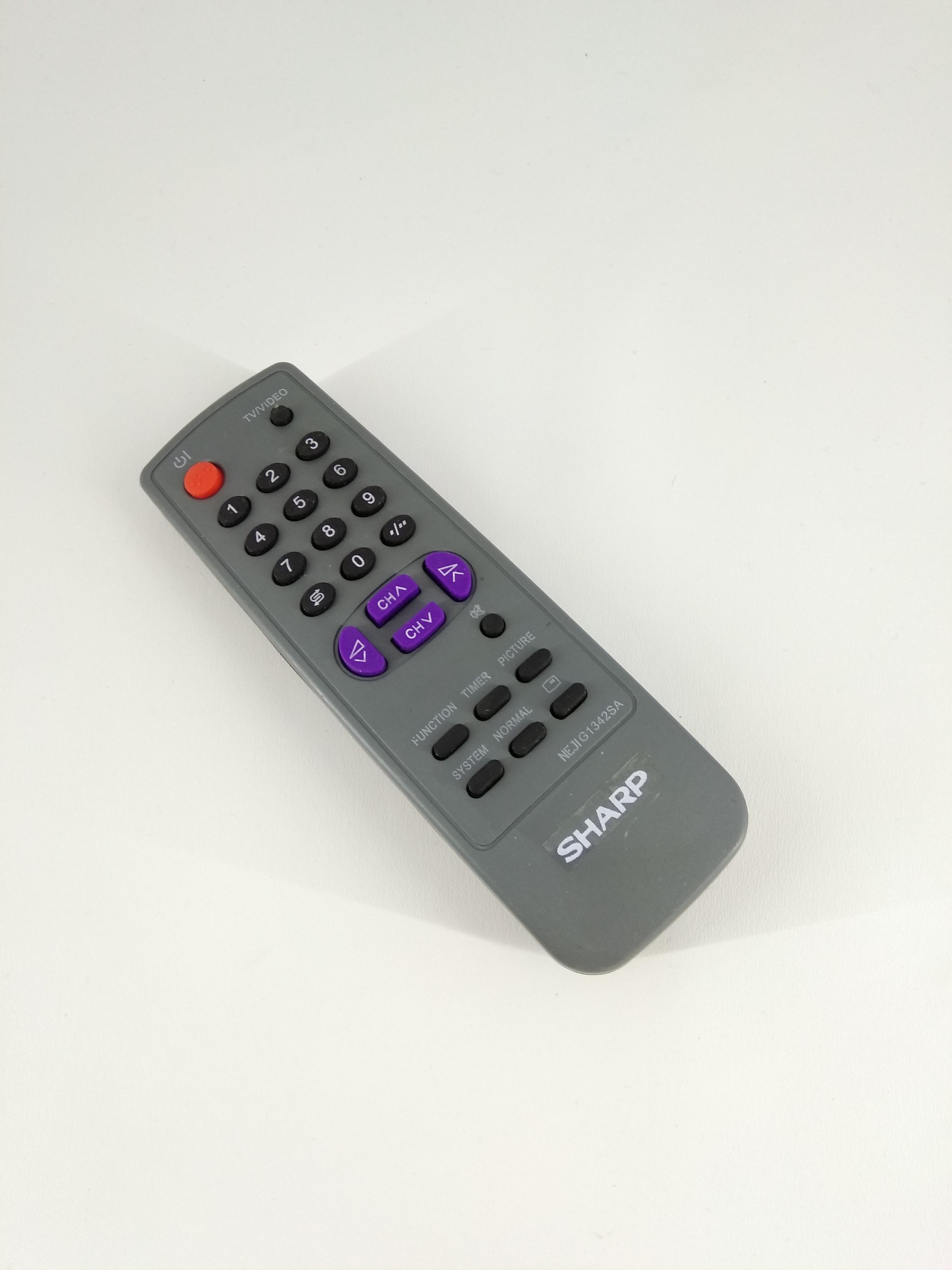 Remot Remote TV Sharp Tabung G1342SA Original Pabrik KW
