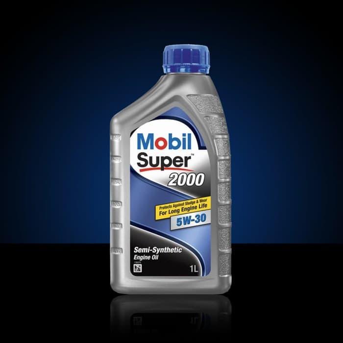 DISKON Oli Mesin Mobil Super 2000 5W 30 1 liter onderdil top