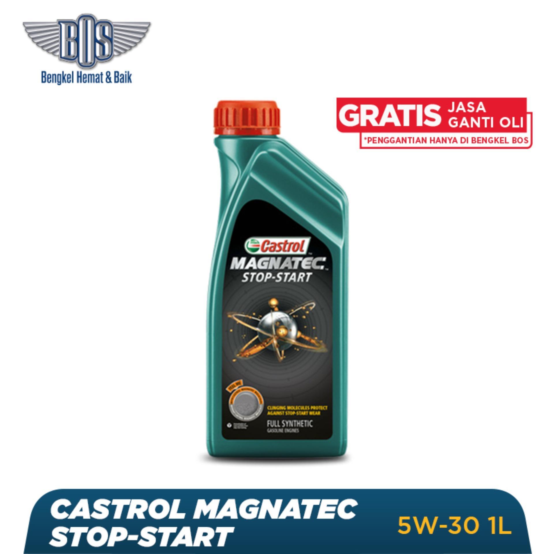 Oli Mobil Castrol Magnatec Stop Star - 5W-30 - LITER -  Gratis Jasa Ganti Oli dan Check Up Kendaraan